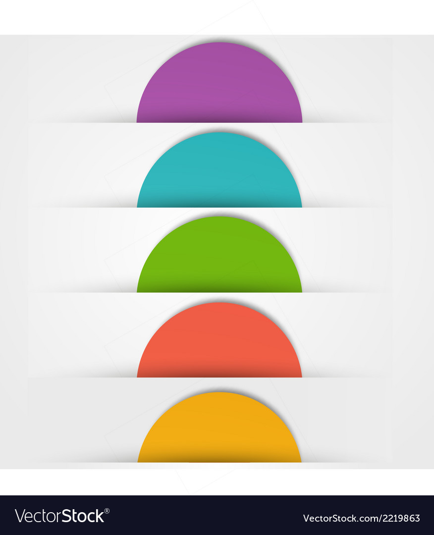 Abstact circles template color icon vector   Price: 1 Credit (USD $1)