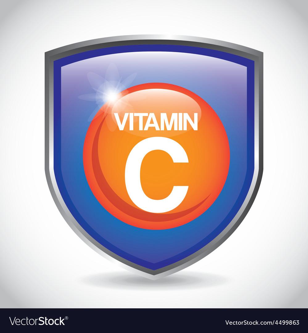 Vitamin c vector | Price: 1 Credit (USD $1)