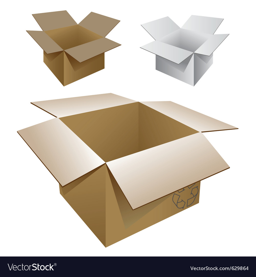 Cartons vector | Price: 1 Credit (USD $1)
