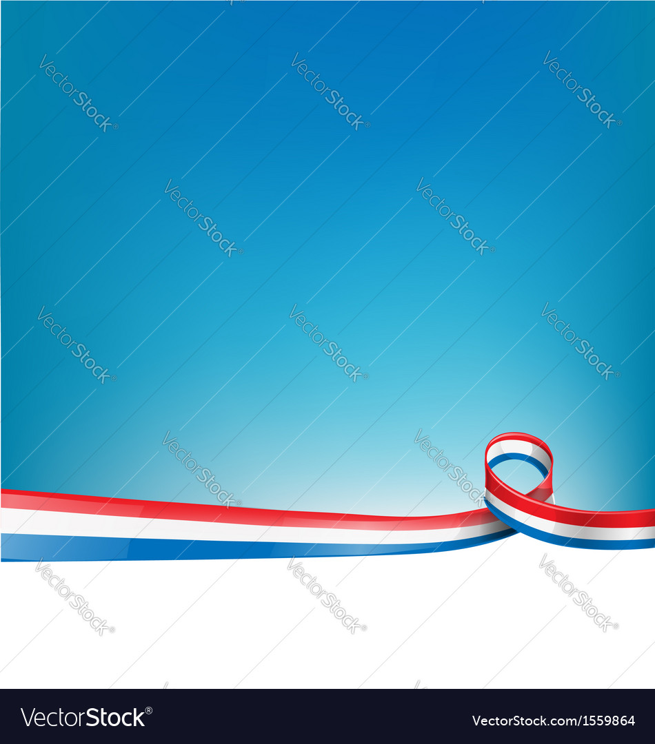 France background flag vector | Price: 1 Credit (USD $1)