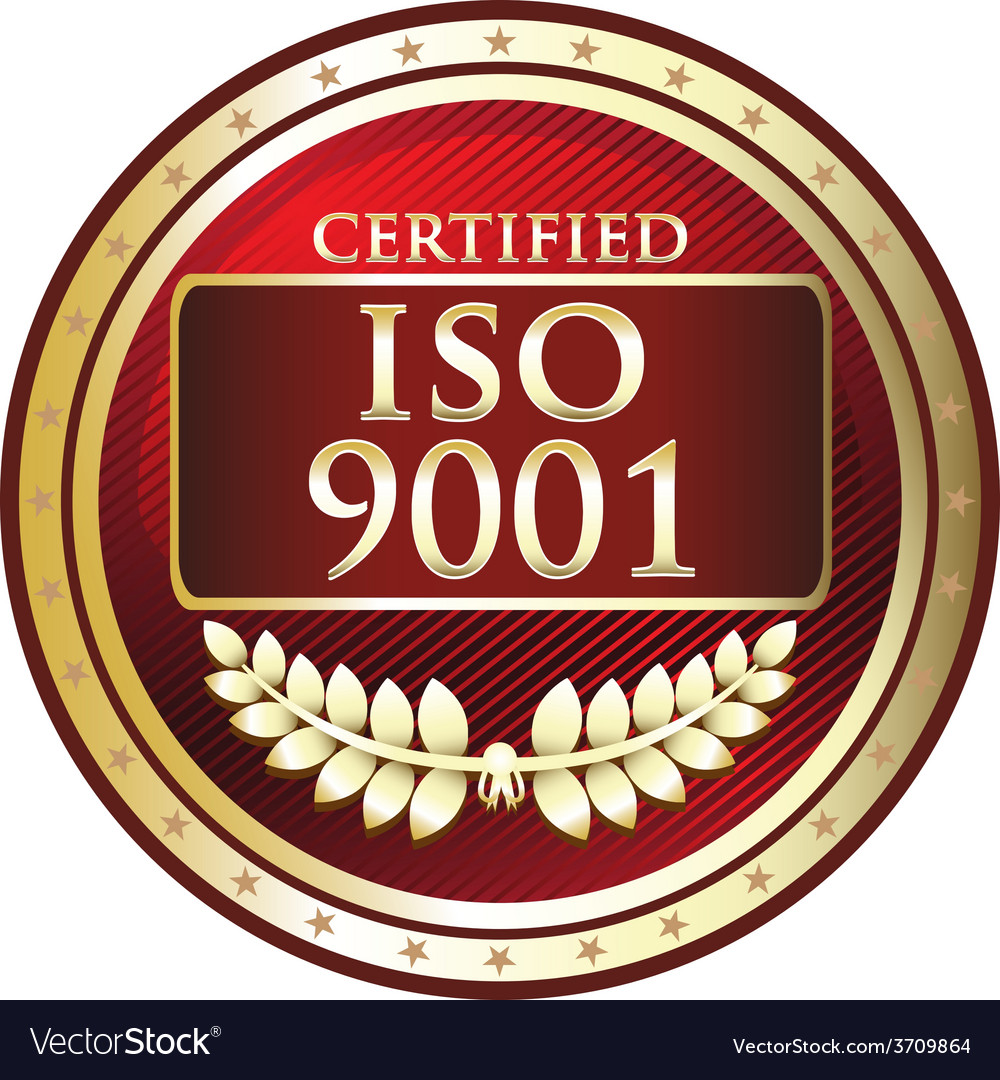 Iso 9001 vector | Price: 1 Credit (USD $1)