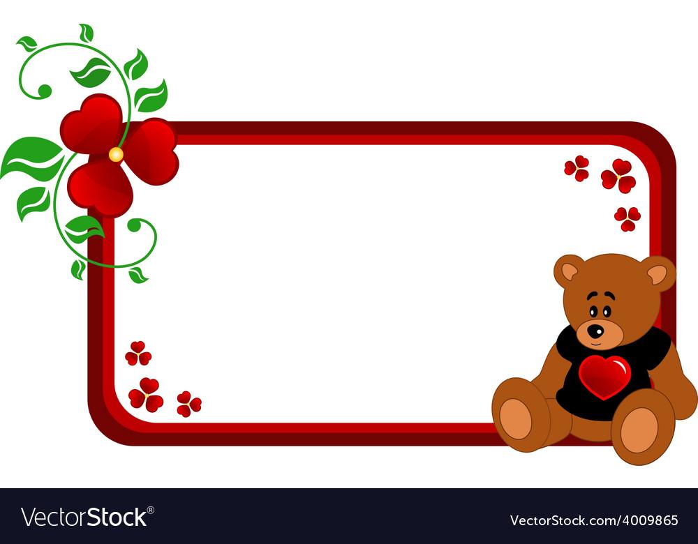 Bear banner vector   Price: 1 Credit (USD $1)