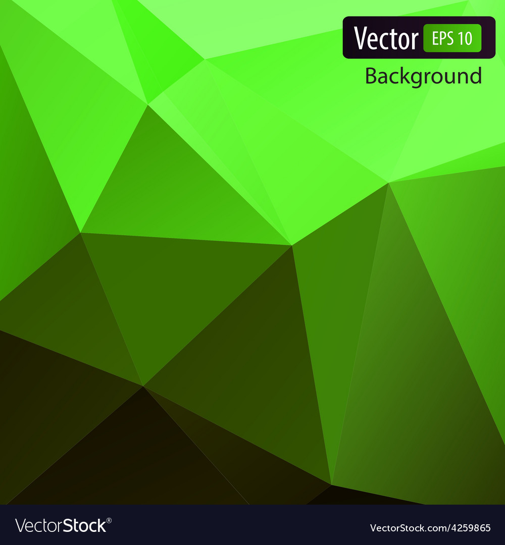 Dynamic polygonal background vector | Price: 1 Credit (USD $1)