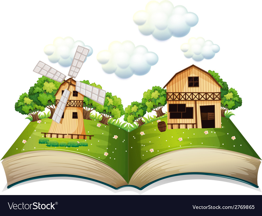 Farm book vector | Price: 3 Credit (USD $3)