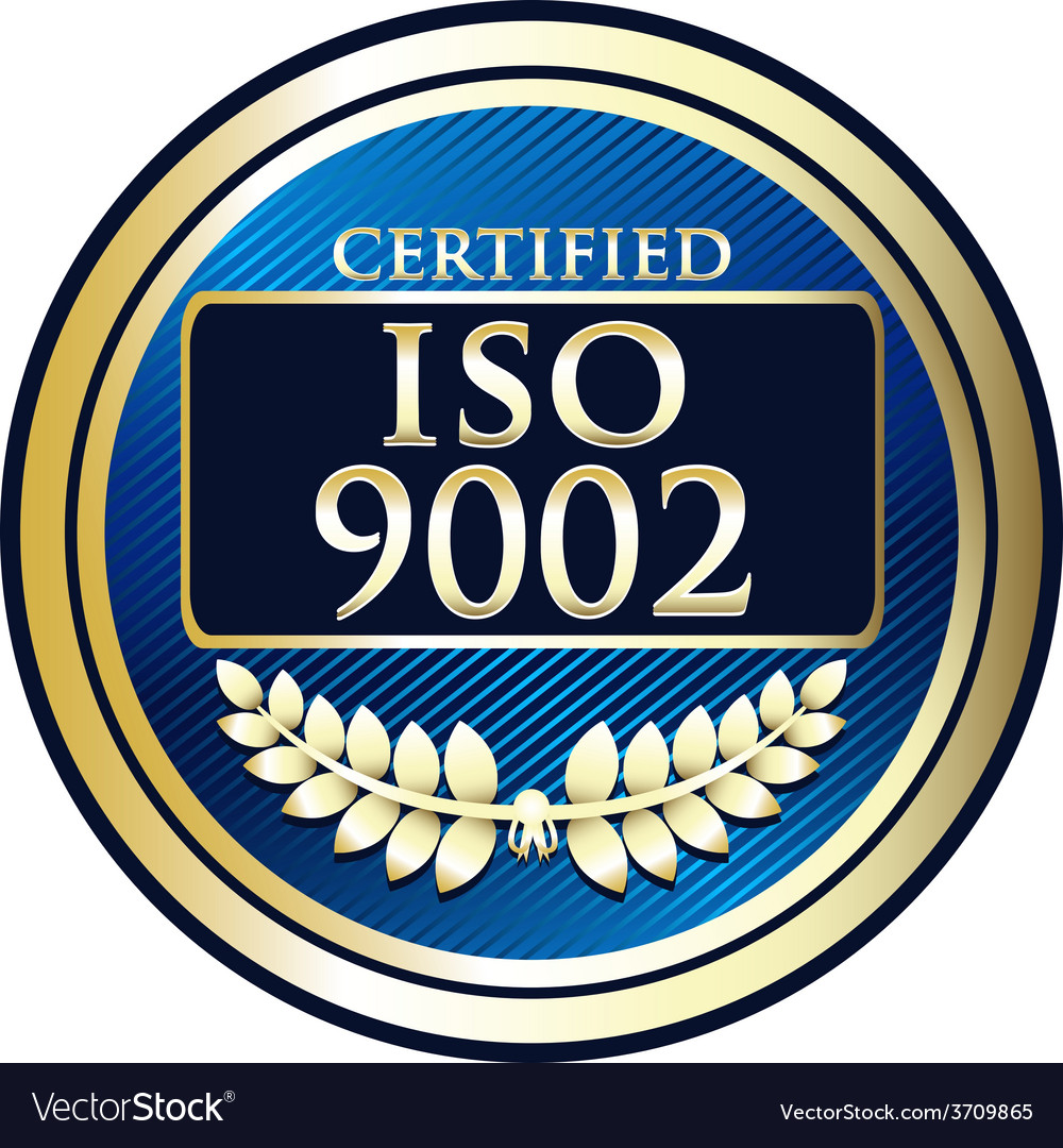 Iso 9002 vector | Price: 1 Credit (USD $1)