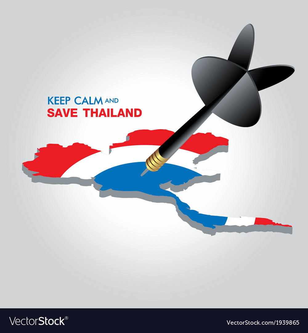 Keep calm and save thailand vector | Price: 1 Credit (USD $1)