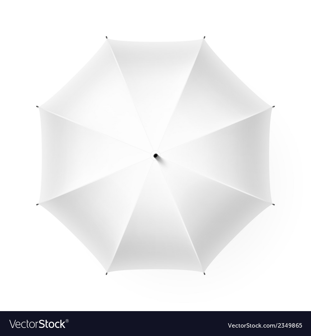 White umbrella vector | Price: 1 Credit (USD $1)