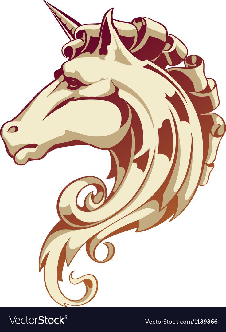 Vintage horse vector | Price: 1 Credit (USD $1)