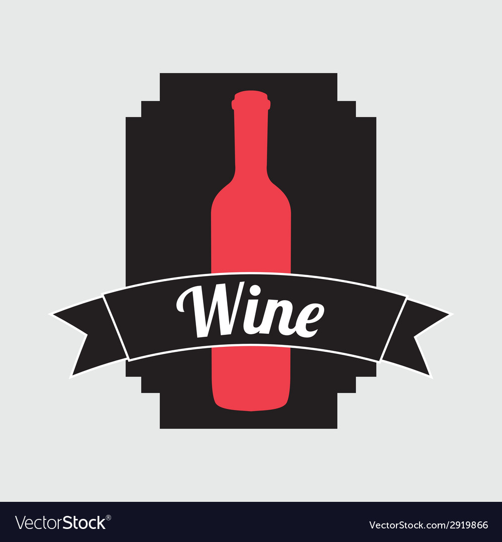 Wine bottle design vector   Price: 1 Credit (USD $1)
