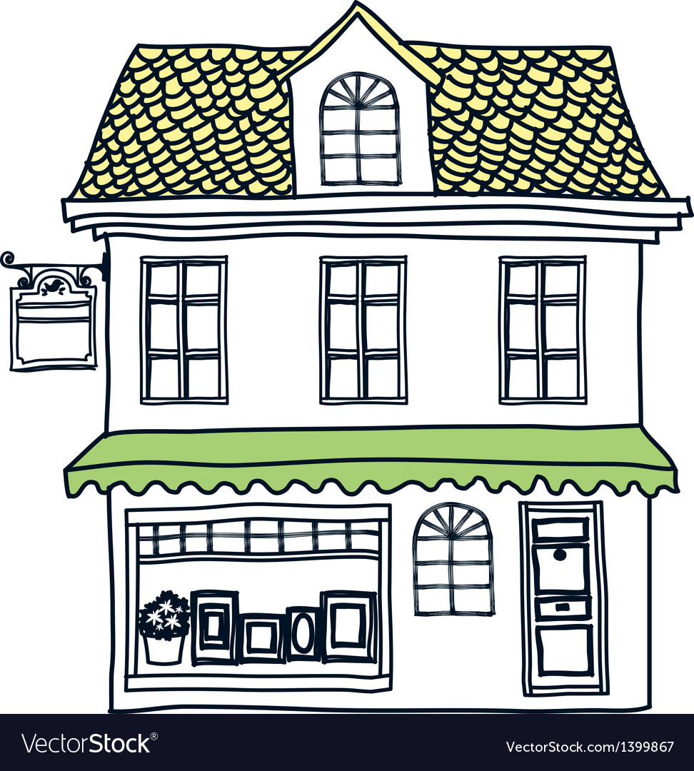 A house stand on vector | Price: 1 Credit (USD $1)