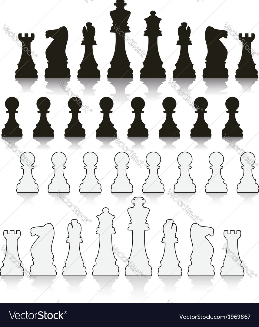 Chess symbols vector | Price: 1 Credit (USD $1)