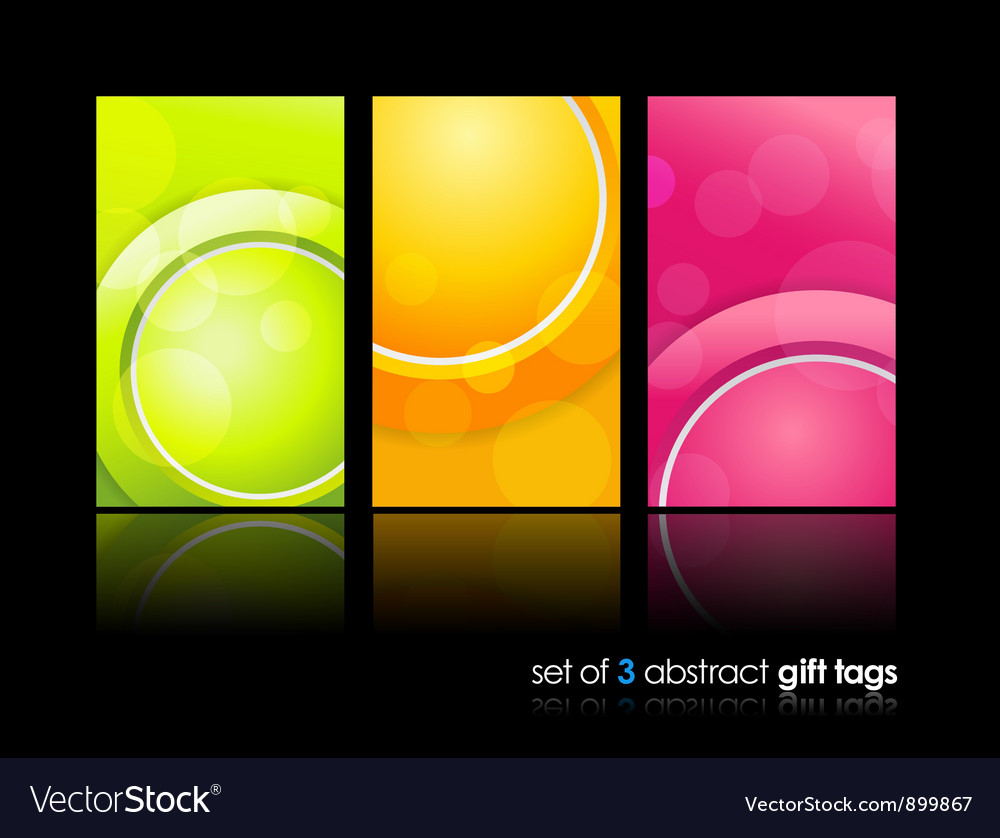 Gift cards backgrounds vector | Price: 1 Credit (USD $1)