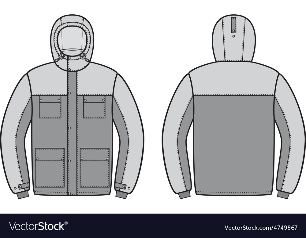 Work jacket vector | Price: 1 Credit (USD $1)