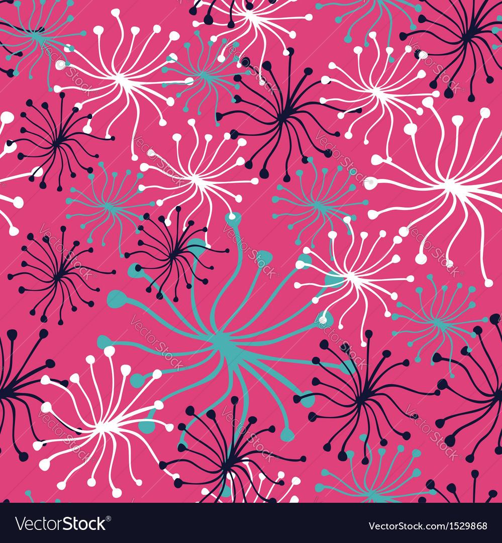 Dandelion pattern vector | Price: 1 Credit (USD $1)