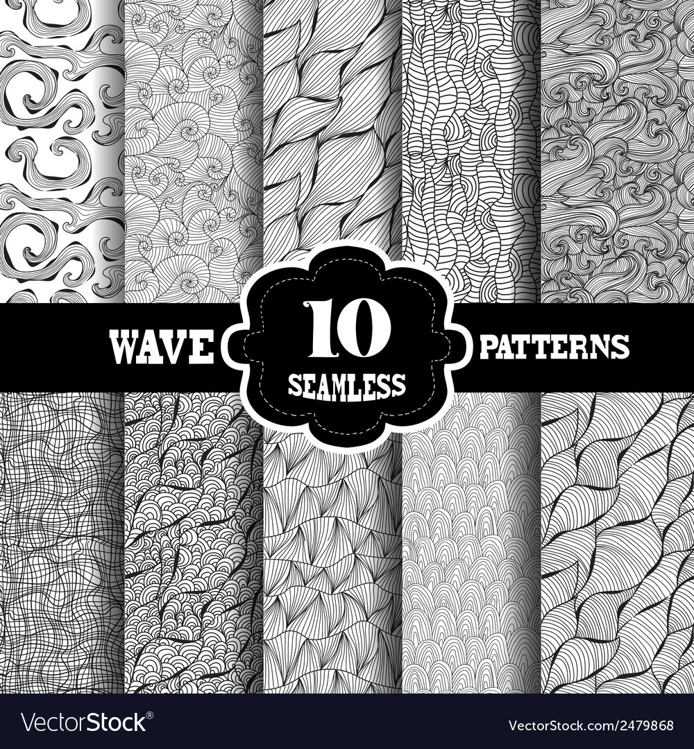 Seamless patterns vector | Price: 1 Credit (USD $1)