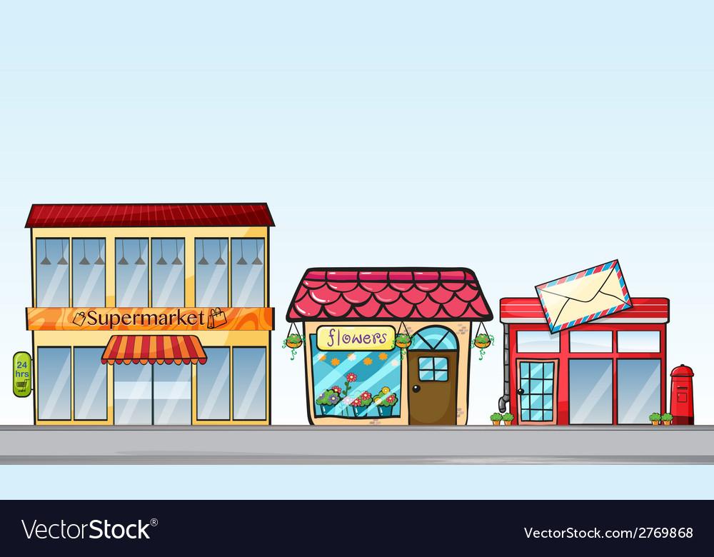 Shops vector   Price: 1 Credit (USD $1)