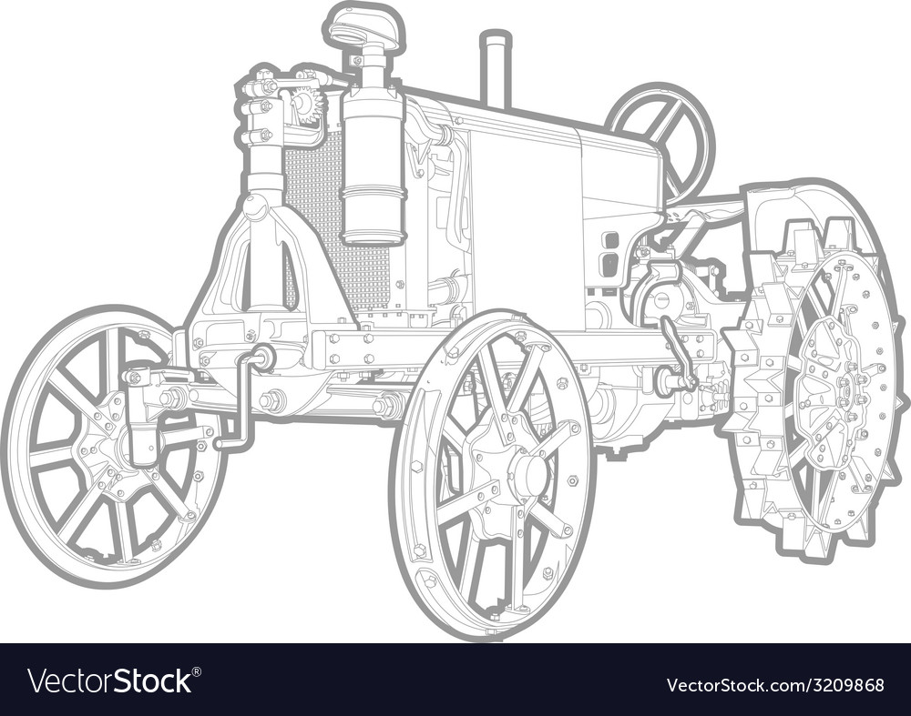 Tractor vector   Price: 1 Credit (USD $1)