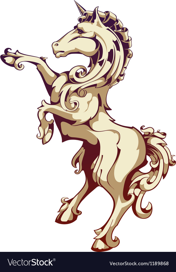 Vintage horse vector | Price: 1 Credit (USD $1)