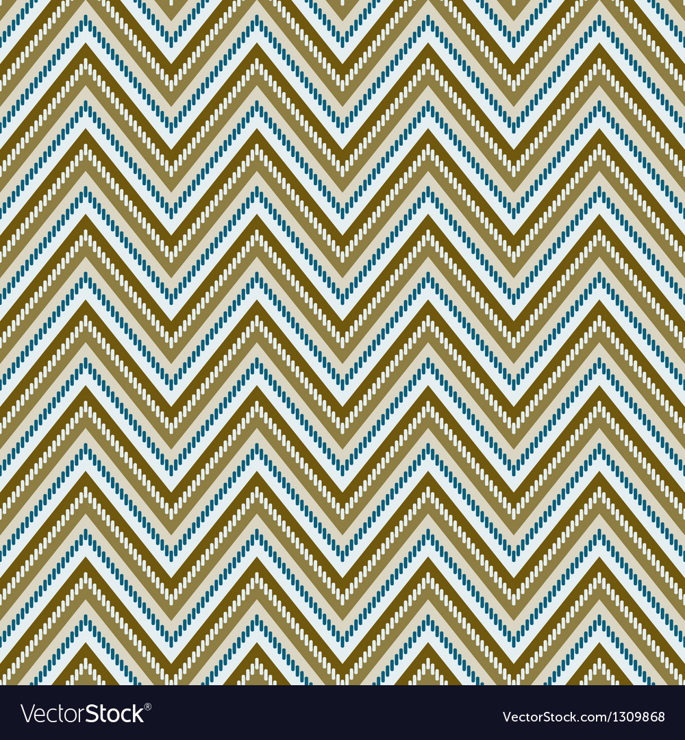 Zig-zag background seamless pattern vector | Price: 1 Credit (USD $1)
