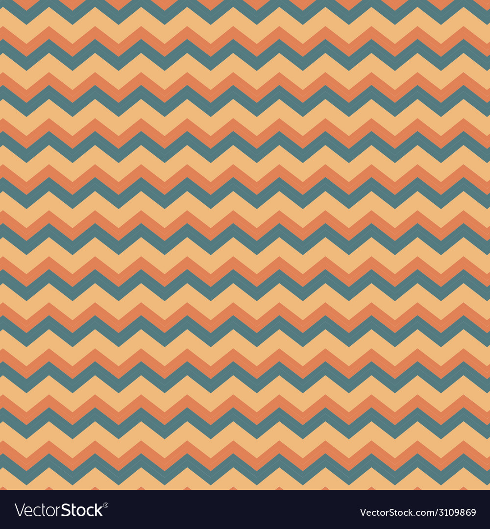 Chevron in peach and blue vector | Price: 1 Credit (USD $1)
