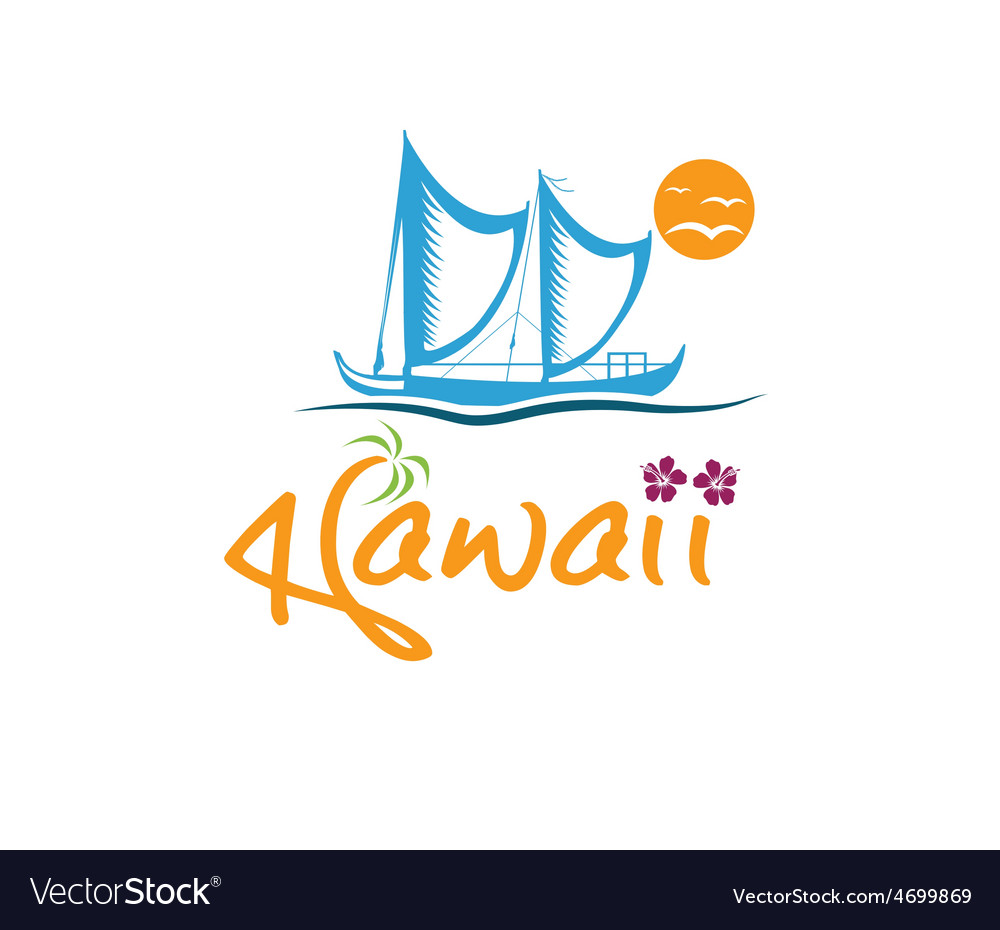 Havwaii with kaimiloa vector | Price: 1 Credit (USD $1)