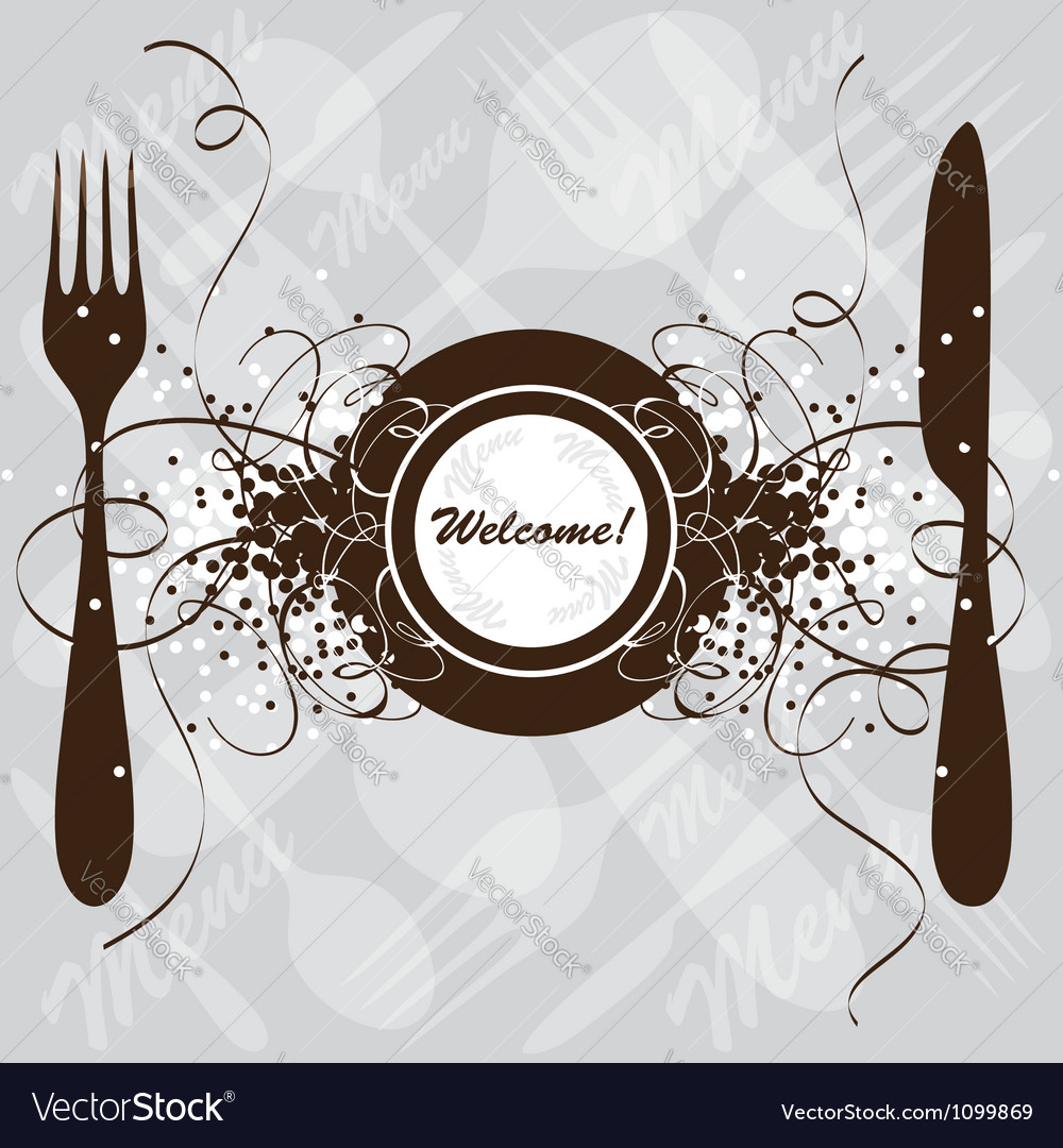 Restaurant menu design template vector | Price: 1 Credit (USD $1)