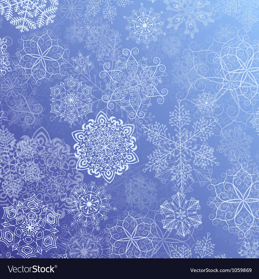 Snowy flow vector | Price: 1 Credit (USD $1)