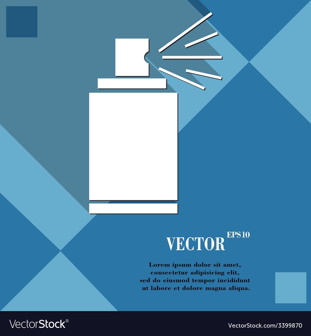 Aerosol paint icon symbol flat modern web design vector | Price: 1 Credit (USD $1)