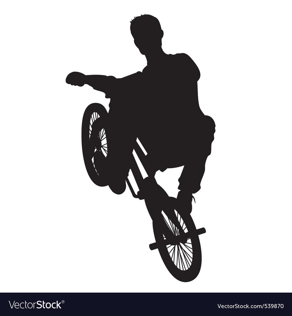 Bicycle rider vector | Price: 1 Credit (USD $1)