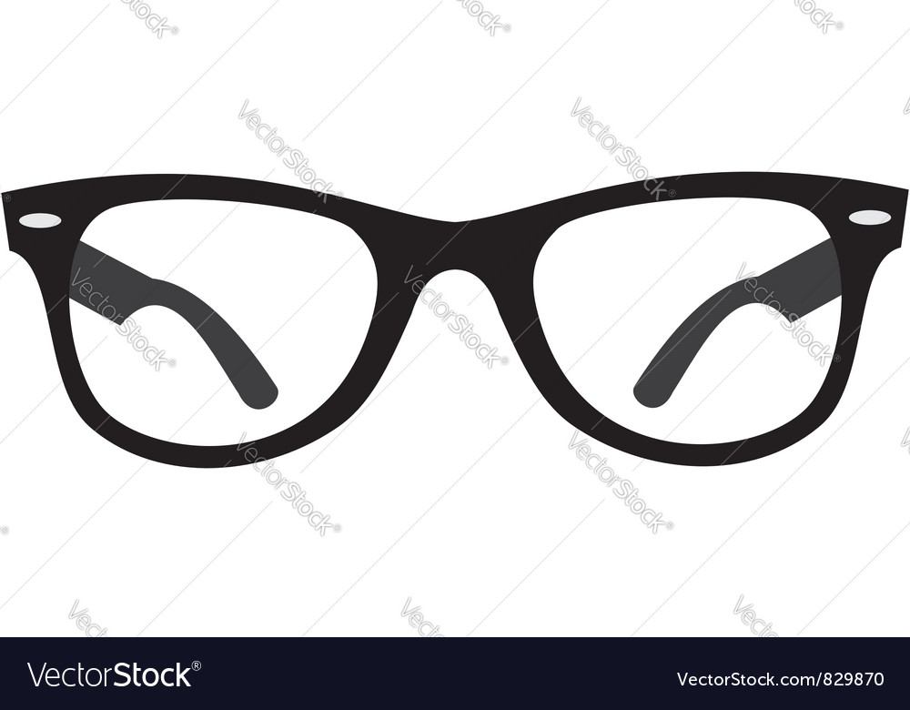 Glasses ray ban vector | Price: 1 Credit (USD $1)
