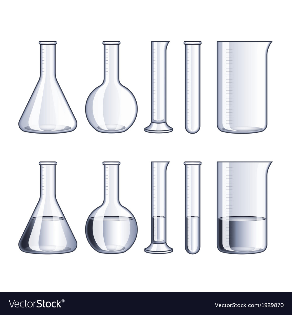 Object flasks vector | Price: 1 Credit (USD $1)