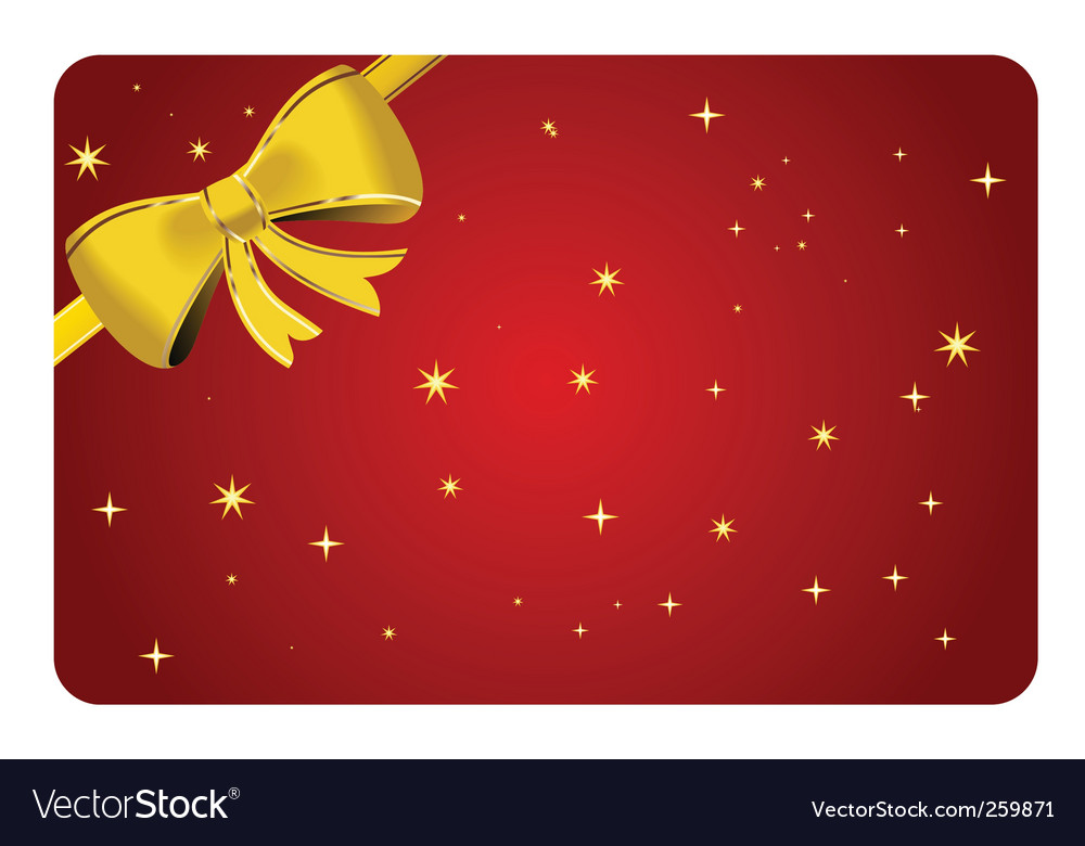 Christmas ribbon vector | Price: 1 Credit (USD $1)