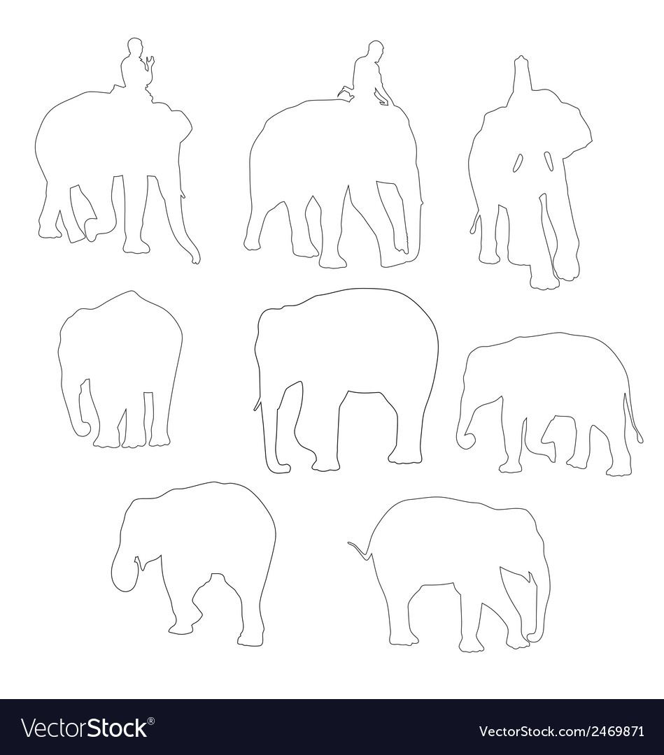 Elephent vector | Price: 1 Credit (USD $1)