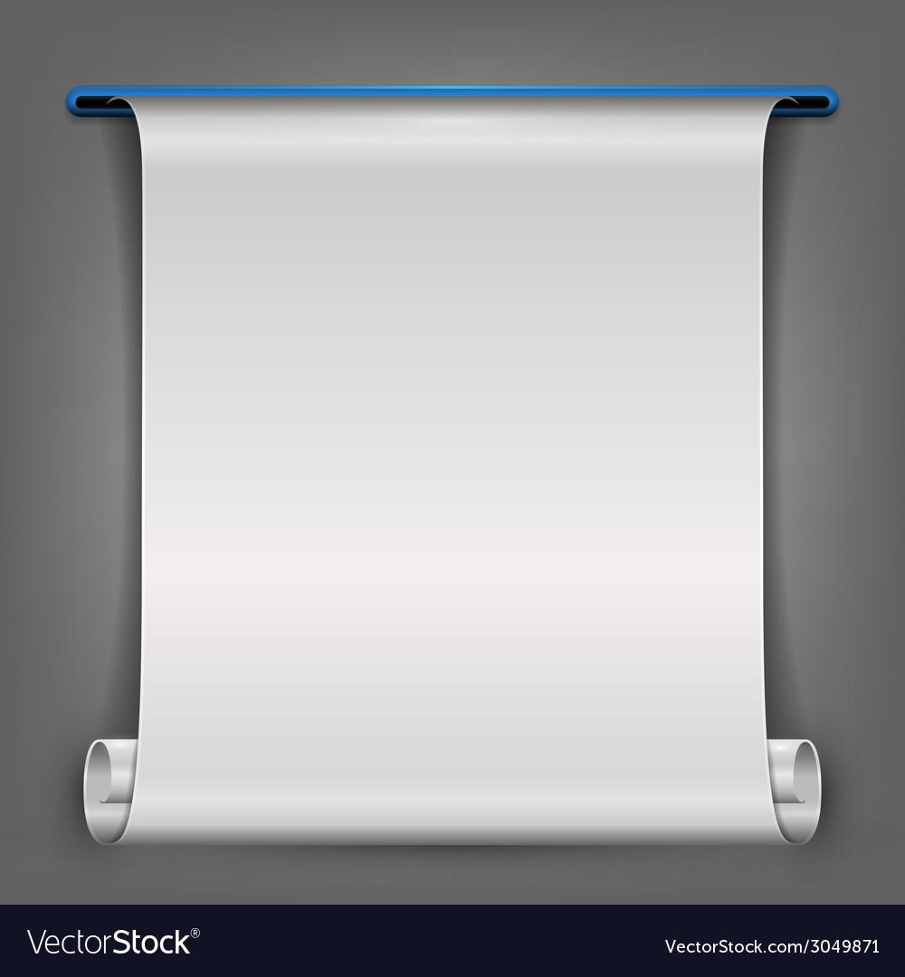 Printed paper vector | Price: 1 Credit (USD $1)