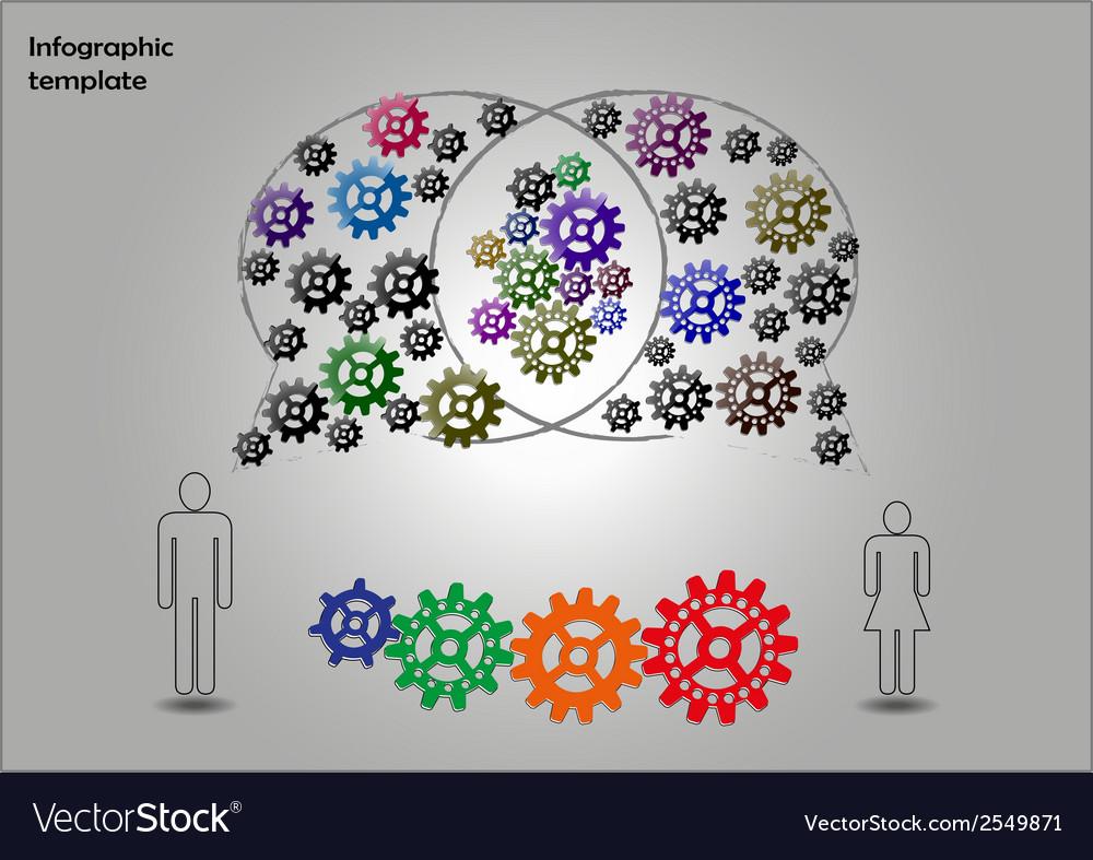 Teamwork infographics vector | Price: 1 Credit (USD $1)