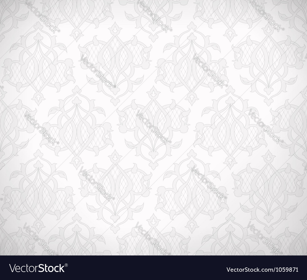 Vintage seamless lace vector | Price: 1 Credit (USD $1)