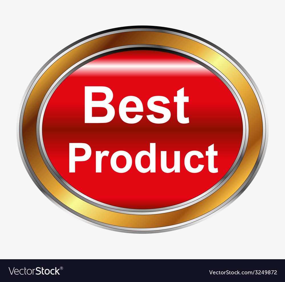 Best product button vector | Price: 1 Credit (USD $1)