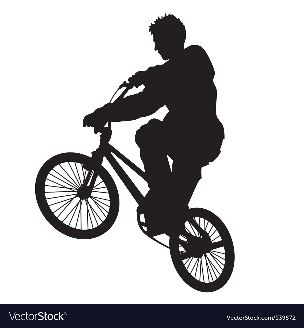 Bicycle rider vector