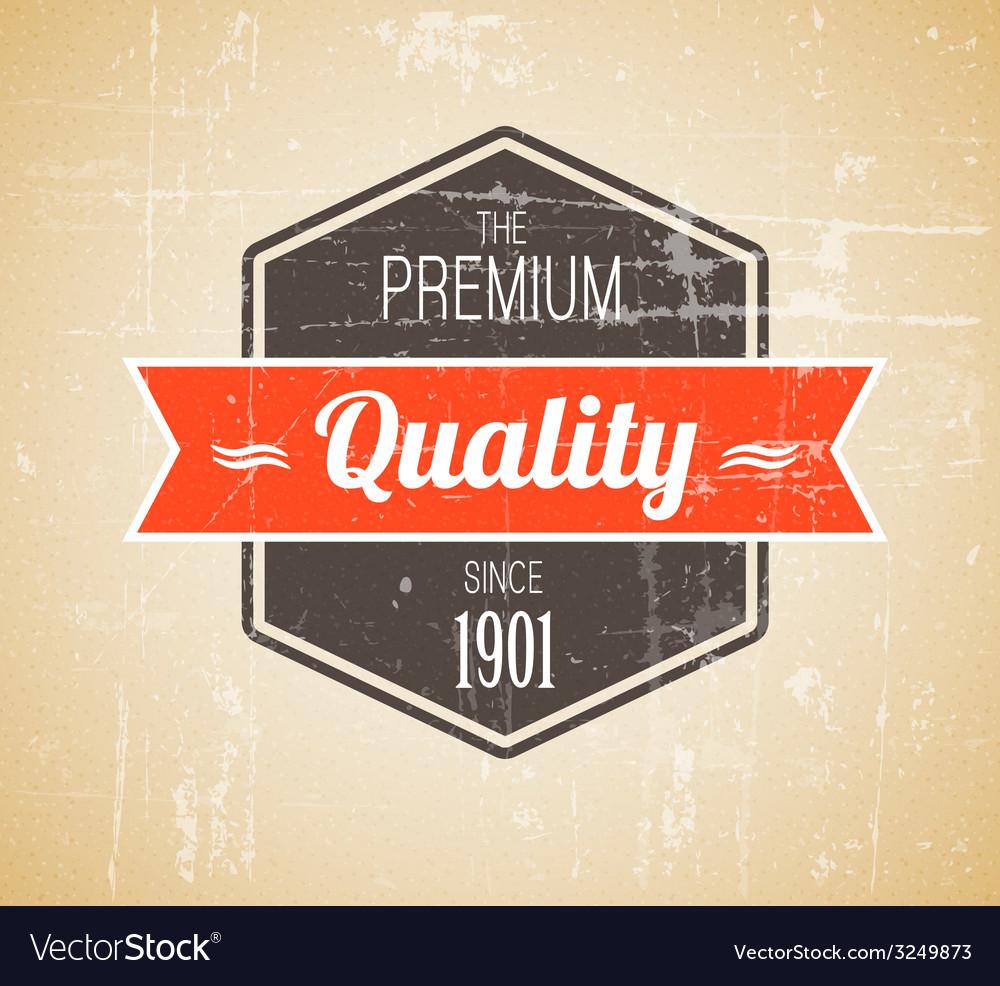Old dark retro vintage grunge label vector | Price: 1 Credit (USD $1)