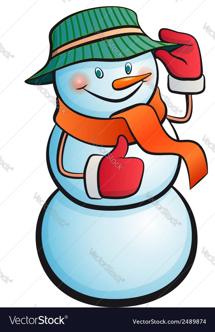 Snowman vector   Price: 1 Credit (USD $1)
