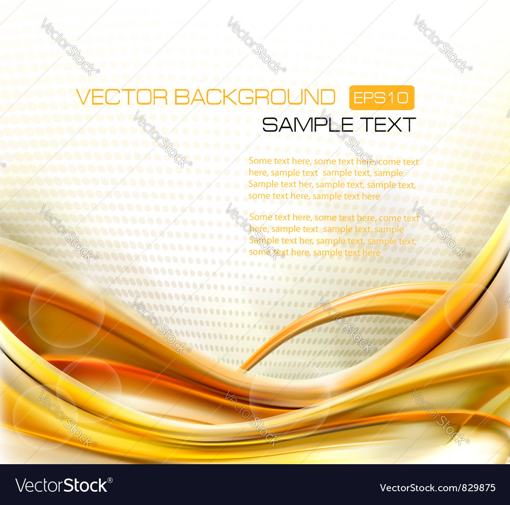 Abstract elegant gold background vector | Price: 1 Credit (USD $1)