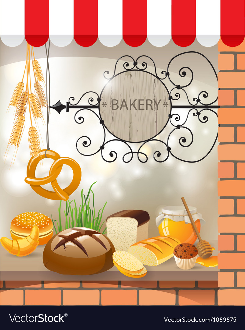 Bakery vector | Price: 5 Credit (USD $5)