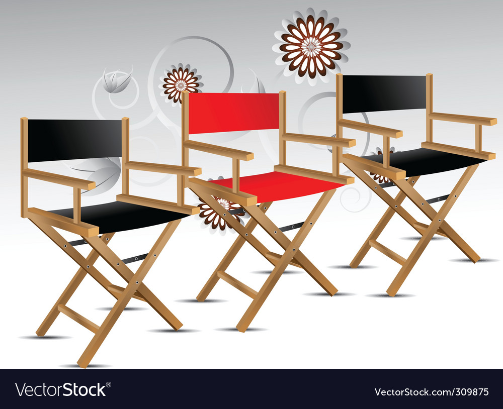 Director chair vector | Price: 3 Credit (USD $3)