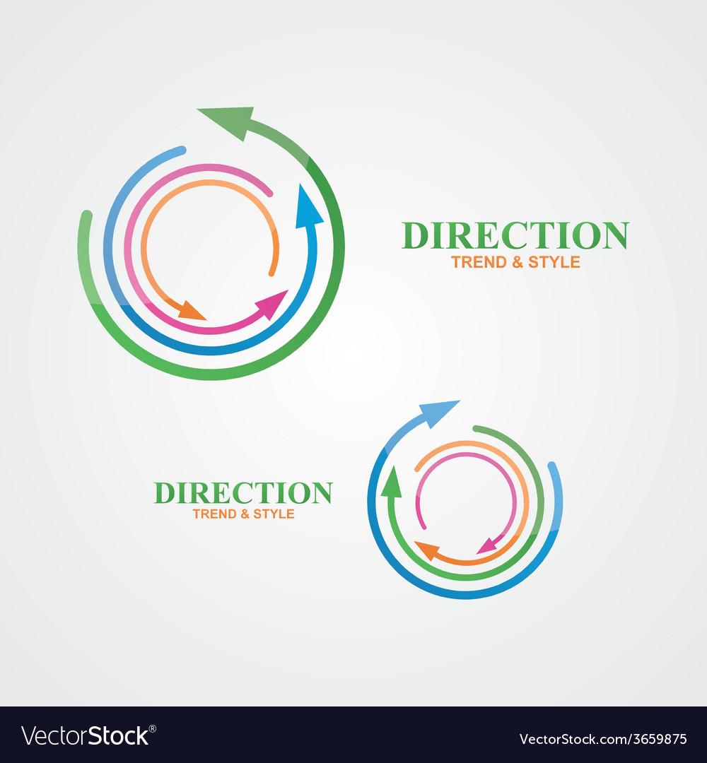 Logo design element creative modern abstract vector | Price: 1 Credit (USD $1)