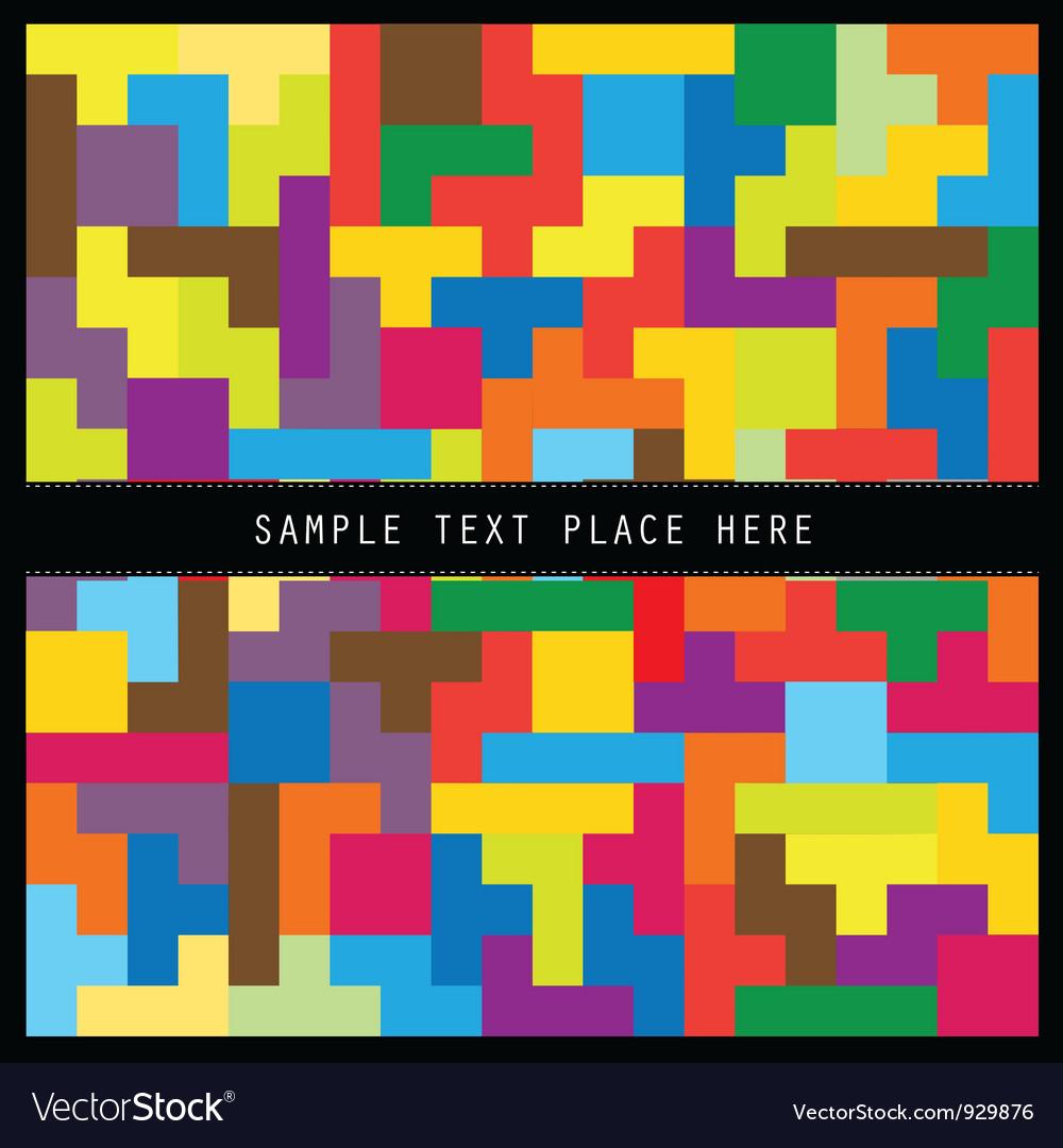Decorative postcard vector | Price: 1 Credit (USD $1)