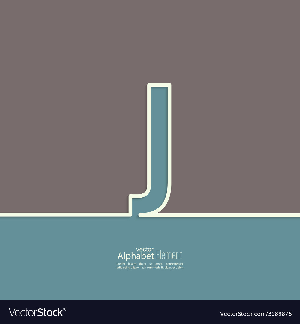 The letter of the alphabet vector | Price: 1 Credit (USD $1)