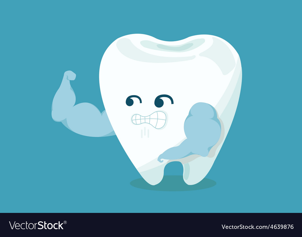 Strong tooth vector | Price: 1 Credit (USD $1)