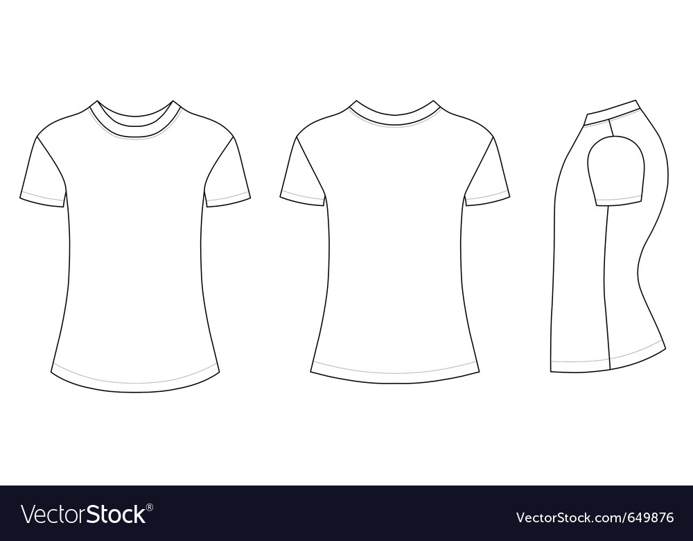 T-shirt vector | Price: 1 Credit (USD $1)