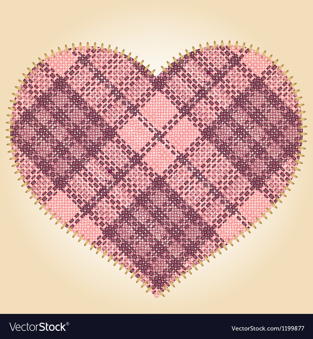 Patch heart vector | Price: 1 Credit (USD $1)