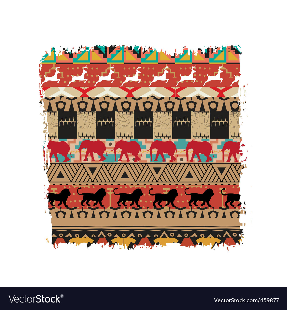 Safari pattern vector | Price: 1 Credit (USD $1)